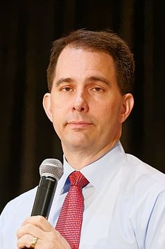 Governor_of_Wisconsin_Scott_Walker_at_Northeast_Republican_Leadership_Conference_in_Philadelphia_PA_June_2015_by_Michael_Vadon_31