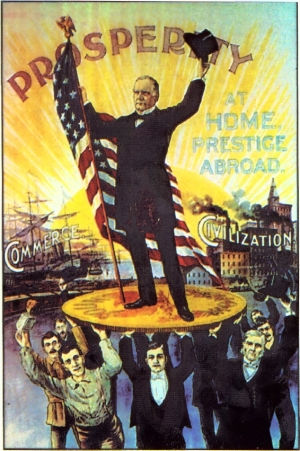 [An issue ad for William McKinley]