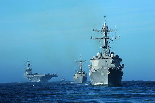 Carl_Vinson_Carrier_Strike_Group_Exercise_DVIDS348535