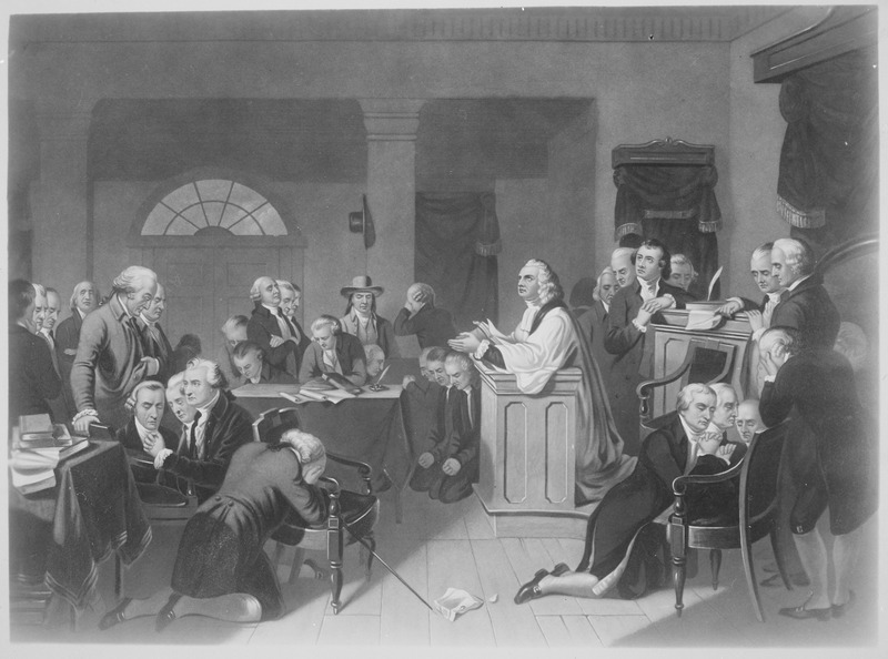 lossy-page1-800px-First_Prayer_in_Congress,_September_1774,_in_Carpenters_Hall,_Philadelphia,_Pennsylvania._Copy_of_print_by_H._B._Hall_af